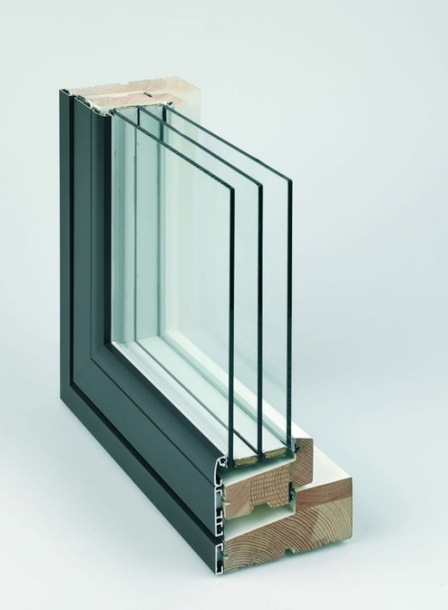Rationel Triple Glazed Aluminium Faced Windows